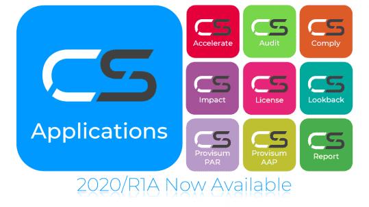 CS Application 2020/R1A Now Available