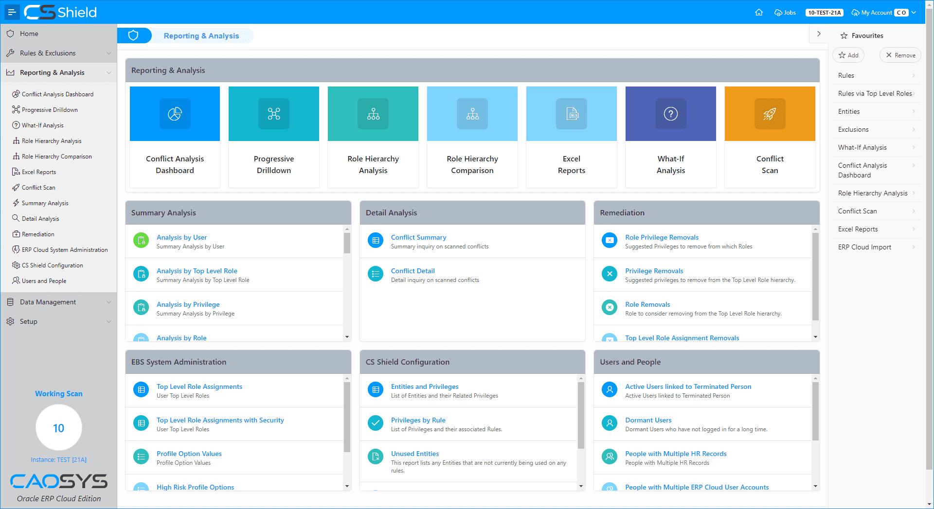 CS Shield ERP Cloud Edition - Comprehensive Reporting & Analysis