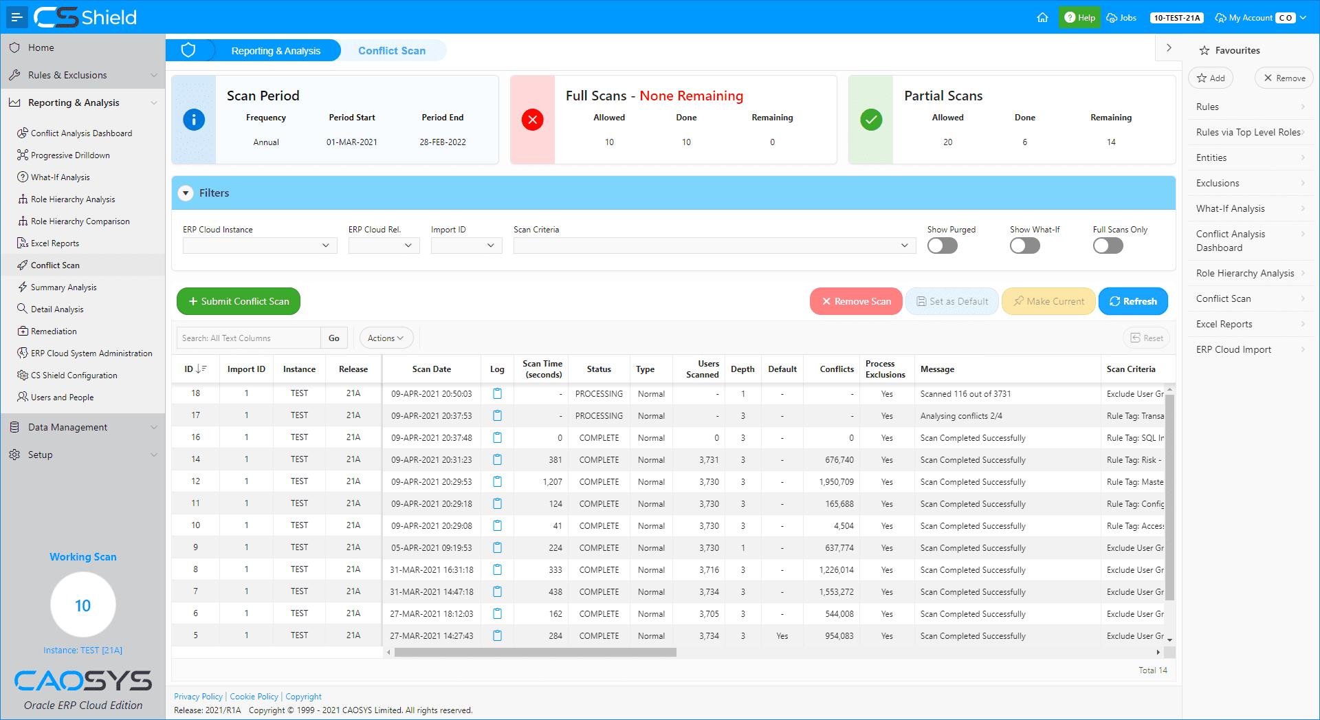 CS Shield ERP Cloud Edition - Scan Management